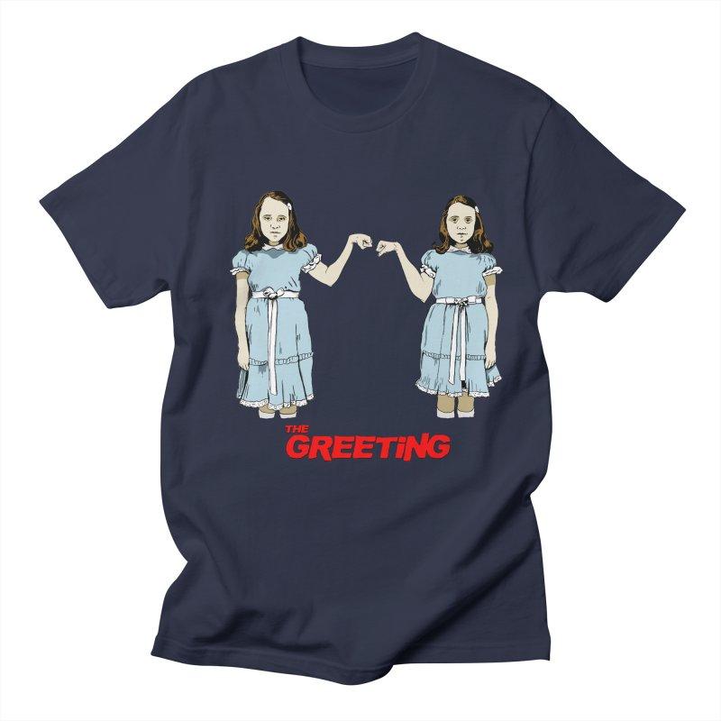 The Greeting Women's Regular Unisex T-Shirt by peregraphs's Artist Shop