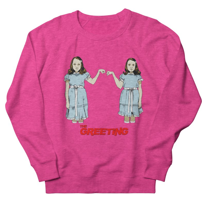 The Greeting Women's French Terry Sweatshirt by peregraphs's Artist Shop