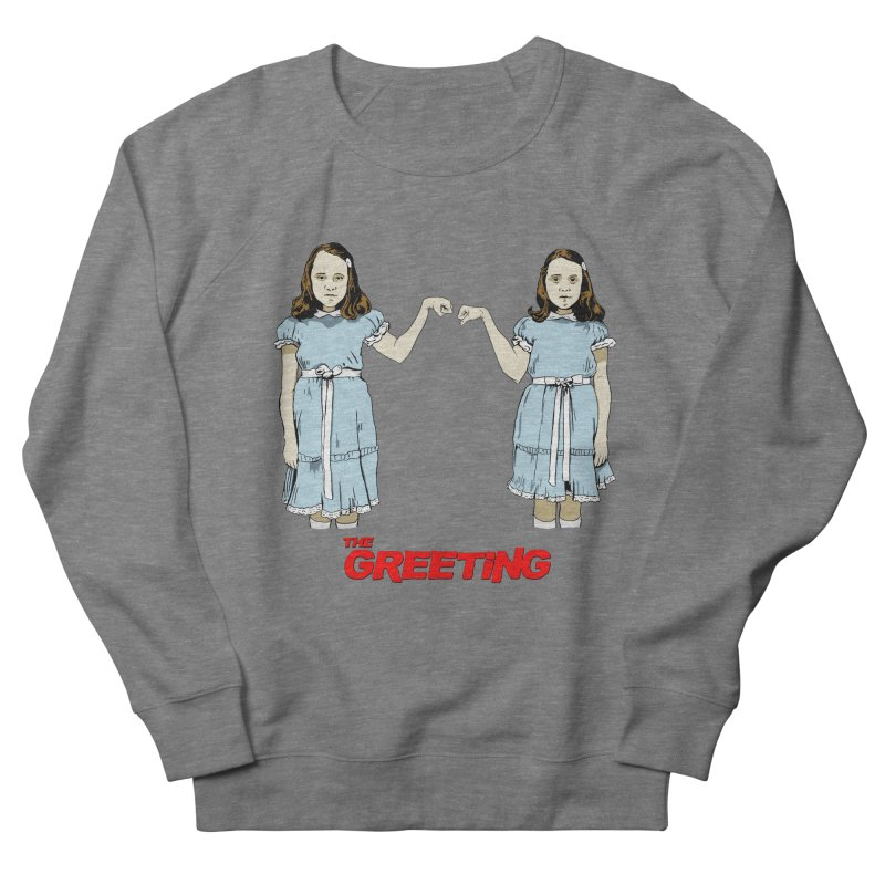 The Greeting Men's French Terry Sweatshirt by peregraphs's Artist Shop