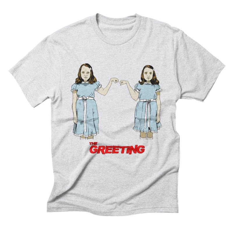 The Greeting Men's Triblend T-Shirt by peregraphs's Artist Shop