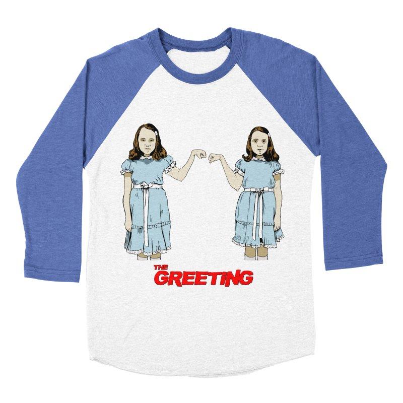 The Greeting Women's Baseball Triblend Longsleeve T-Shirt by peregraphs's Artist Shop