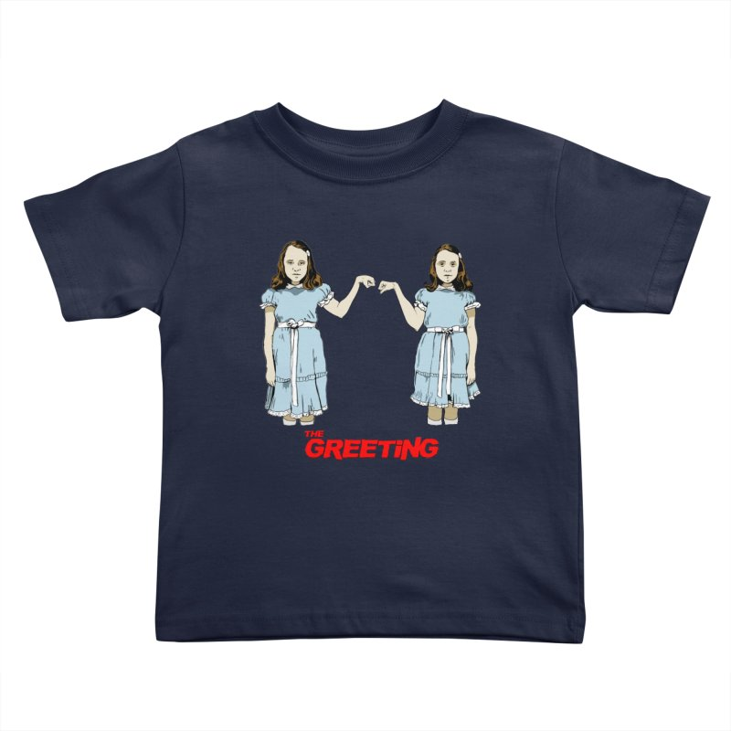 The Greeting Kids Toddler T-Shirt by peregraphs's Artist Shop