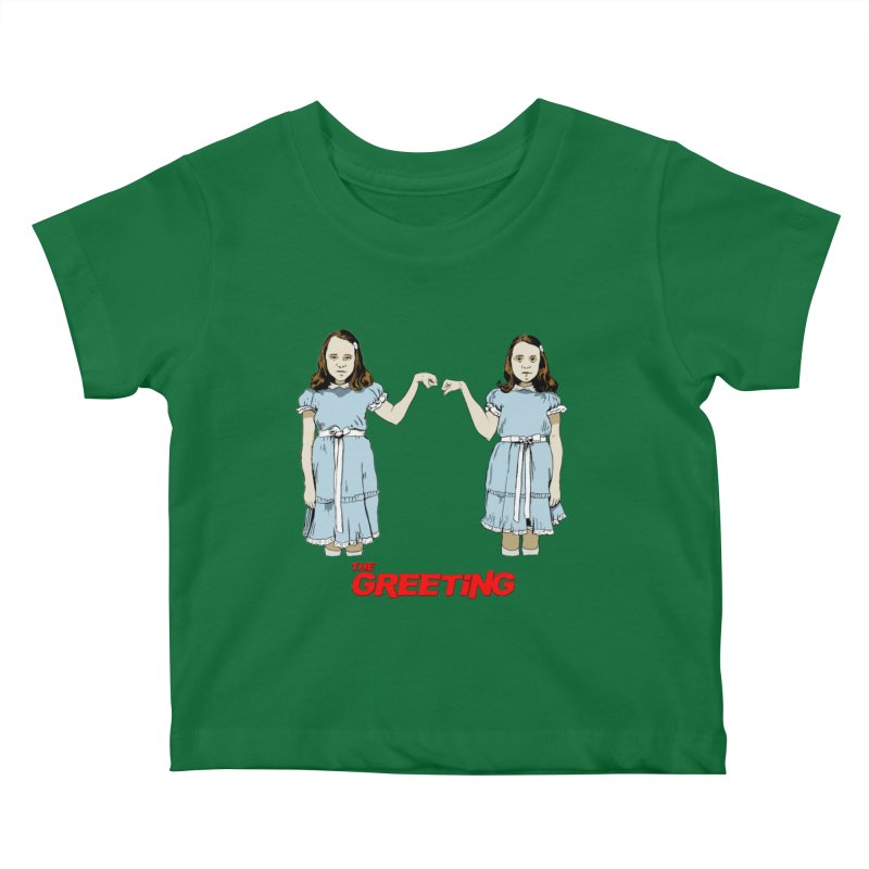 The Greeting Kids Baby T-Shirt by peregraphs's Artist Shop