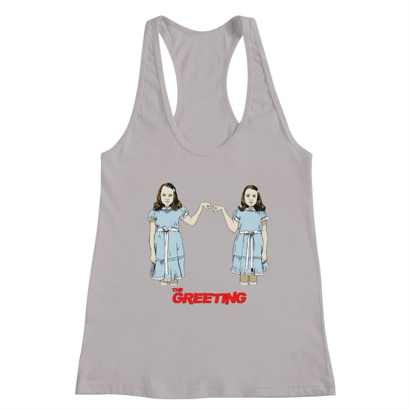 The Greeting Women's Tank by peregraphs's Artist Shop
