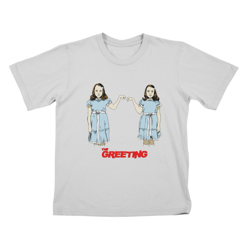 The Greeting Kids T-Shirt by peregraphs's Artist Shop