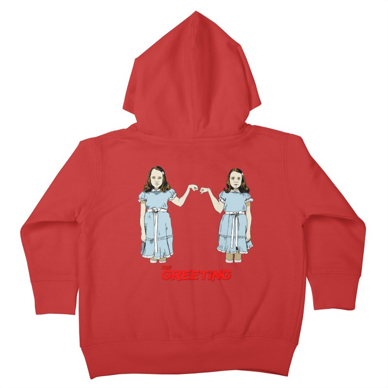 The Greeting Kids Toddler Zip-Up Hoody by peregraphs's Artist Shop