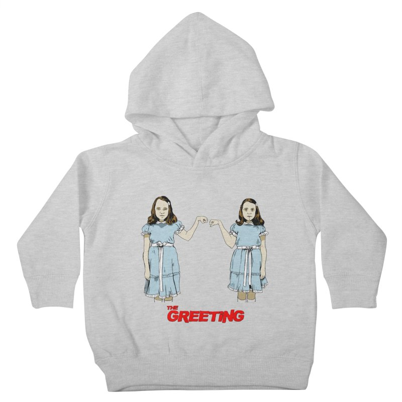 The Greeting Kids Toddler Pullover Hoody by peregraphs's Artist Shop