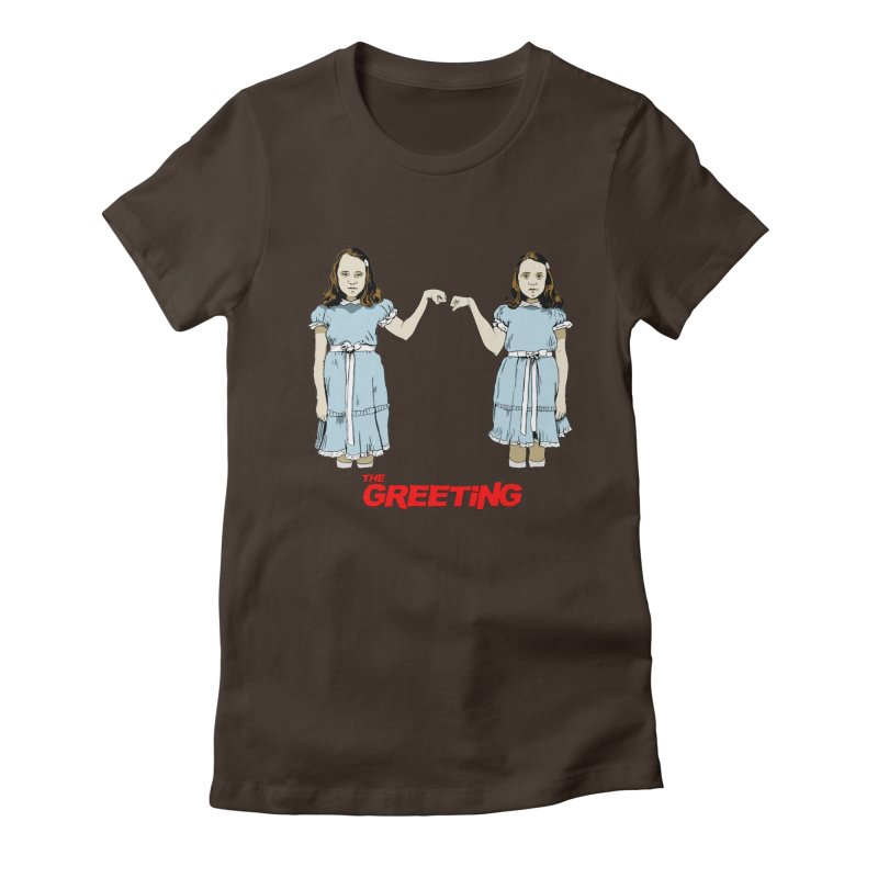 The Greeting Women's T-Shirt by peregraphs's Artist Shop