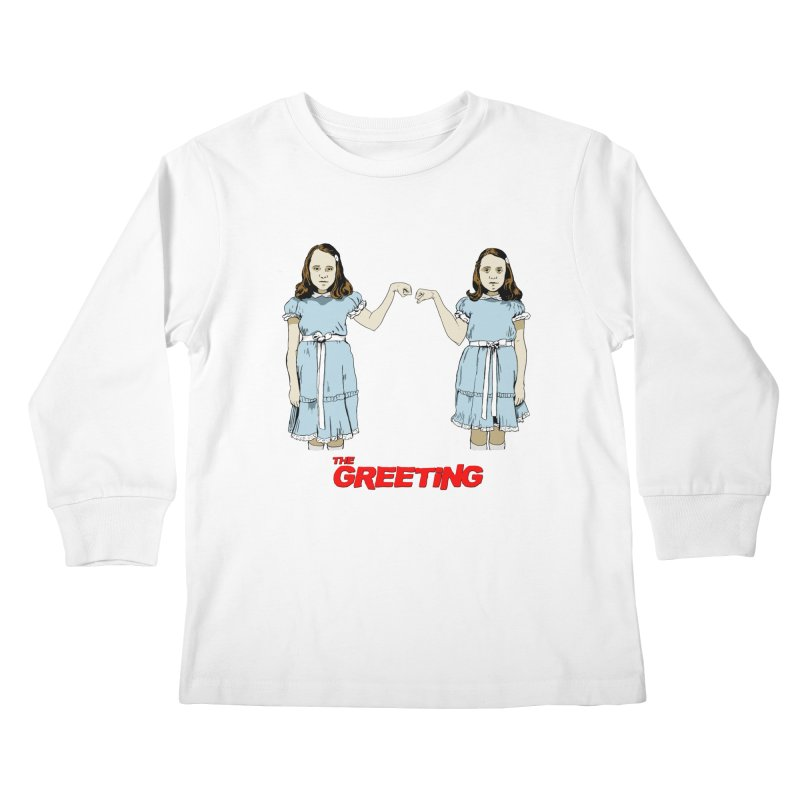 The Greeting Kids Longsleeve T-Shirt by peregraphs's Artist Shop