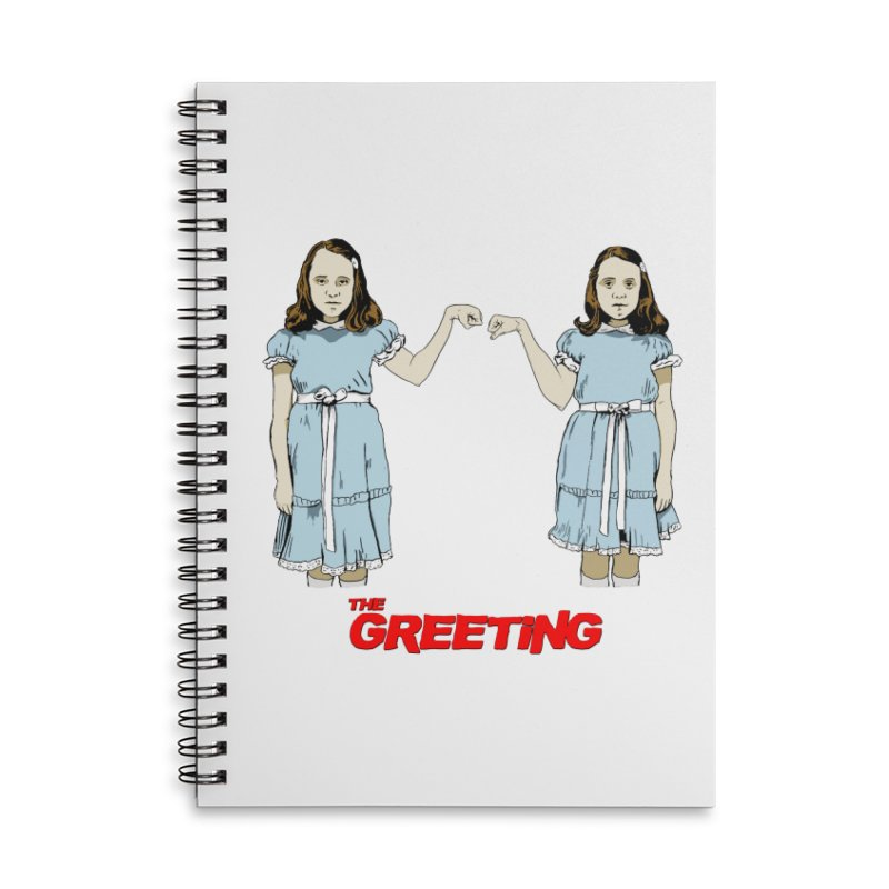 The Greeting Accessories Lined Spiral Notebook by peregraphs's Artist Shop