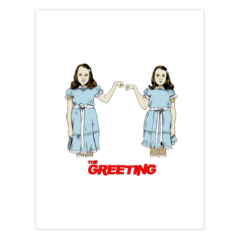 The Greeting Home Fine Art Print by peregraphs's Artist Shop
