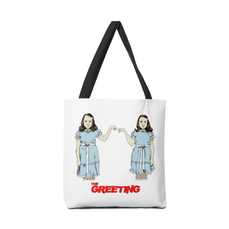 The Greeting Accessories Bag by peregraphs's Artist Shop