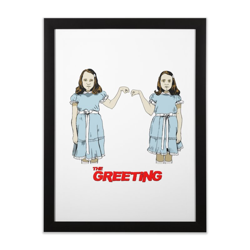 The Greeting Home Framed Fine Art Print by peregraphs's Artist Shop