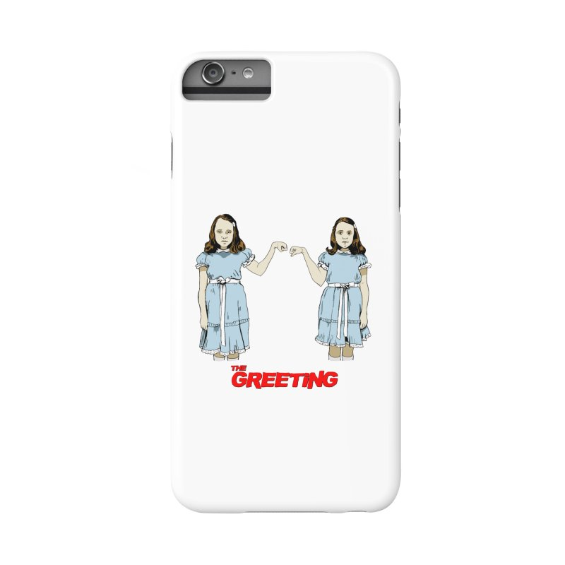 The Greeting Accessories Phone Case by peregraphs's Artist Shop