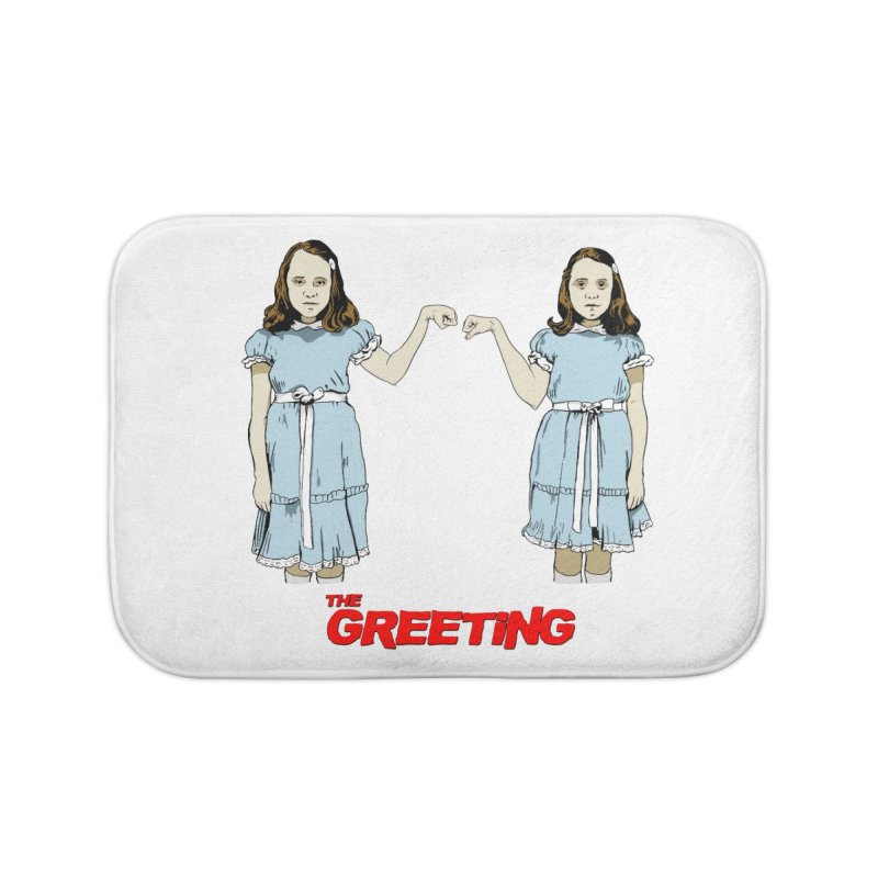The Greeting in Bath Mat by peregraphs's Artist Shop