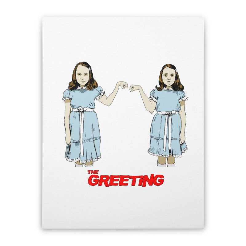 The Greeting Home Stretched Canvas by peregraphs's Artist Shop