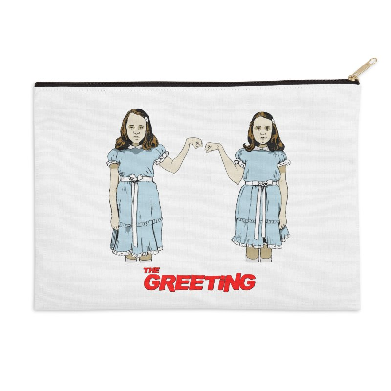 The Greeting Accessories Zip Pouch by peregraphs's Artist Shop