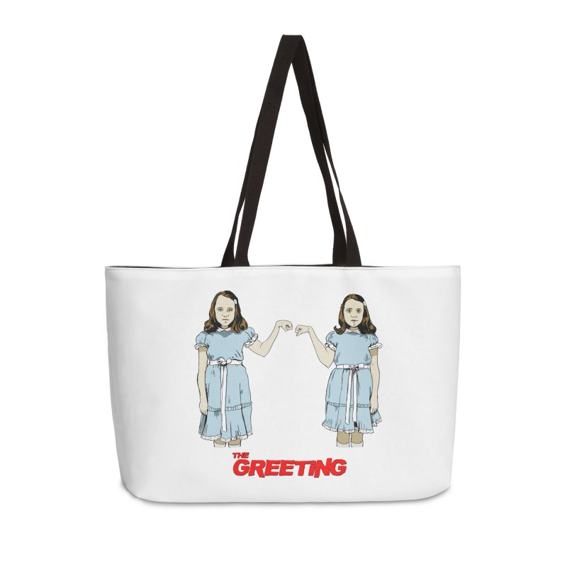 The Greeting Accessories Weekender Bag Bag by peregraphs's Artist Shop