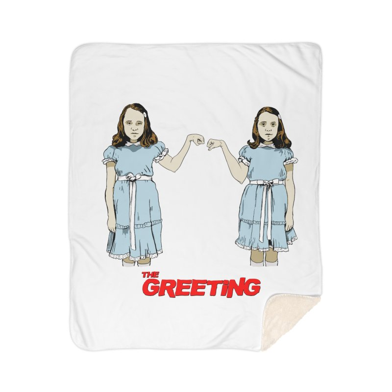 The Greeting Home Sherpa Blanket Blanket by peregraphs's Artist Shop