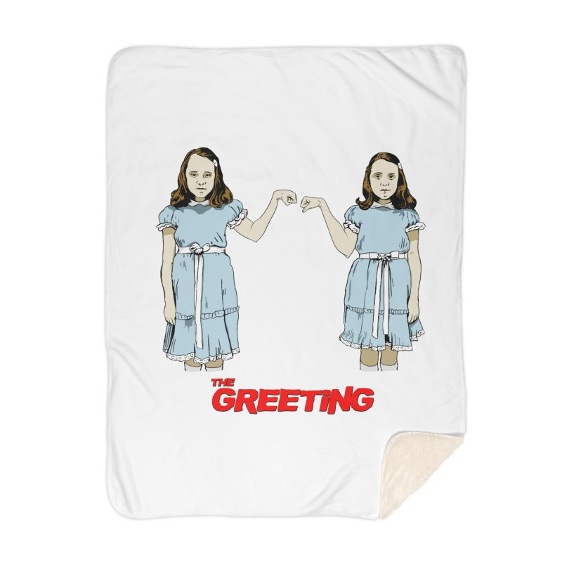 The Greeting Home Blanket by peregraphs's Artist Shop