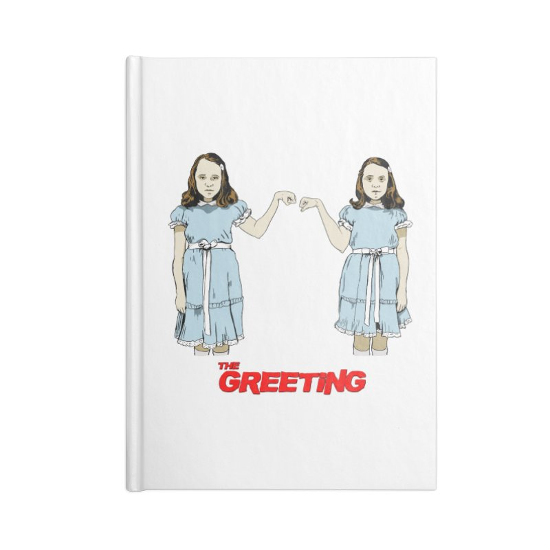The Greeting Accessories Lined Journal Notebook by peregraphs's Artist Shop