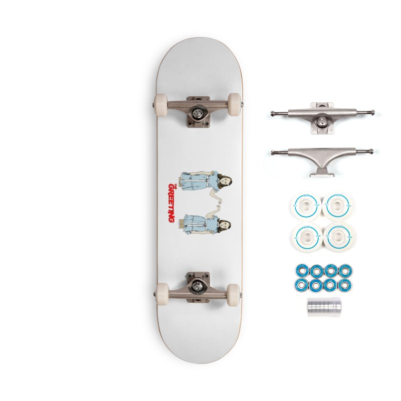 The Greeting Accessories Complete - Basic Skateboard by peregraphs's Artist Shop