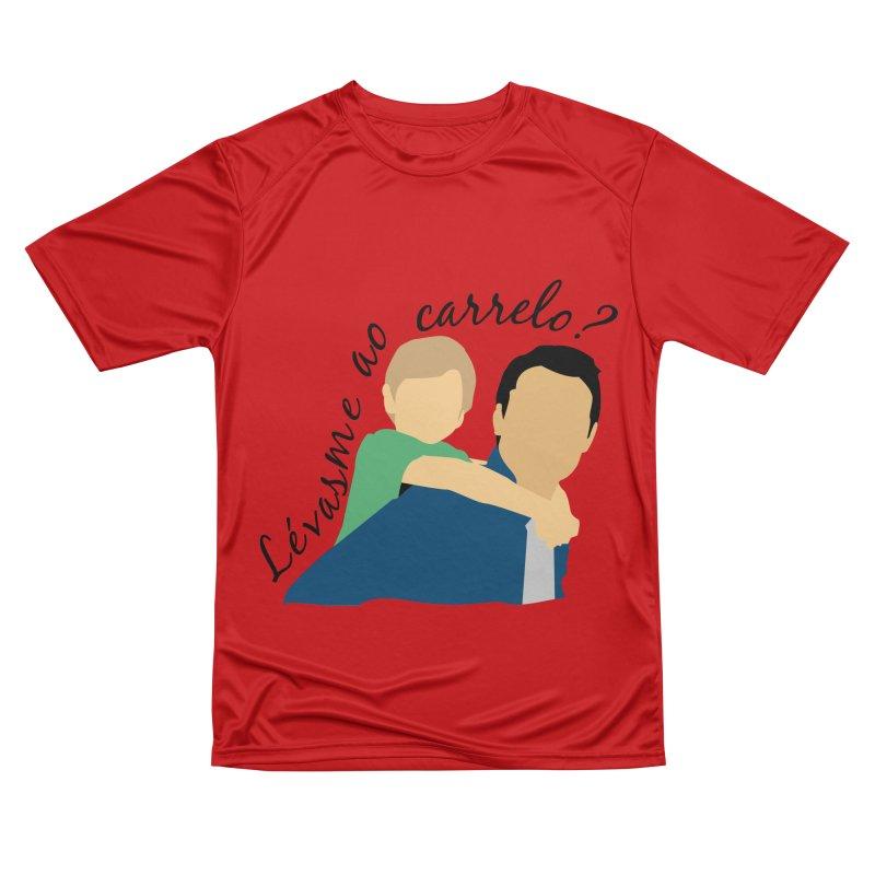 Lévasme ao carrelo? Women's Performance Unisex T-Shirt by peregraphs's Artist Shop
