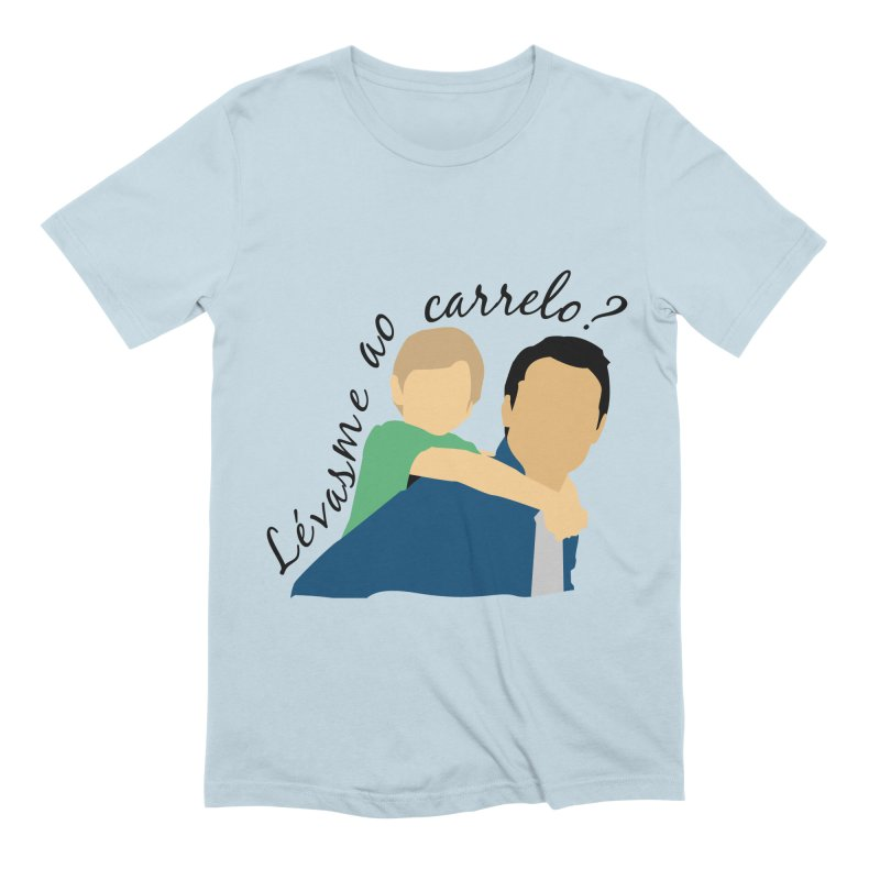 Lévasme ao carrelo? Men's Extra Soft T-Shirt by peregraphs's Artist Shop