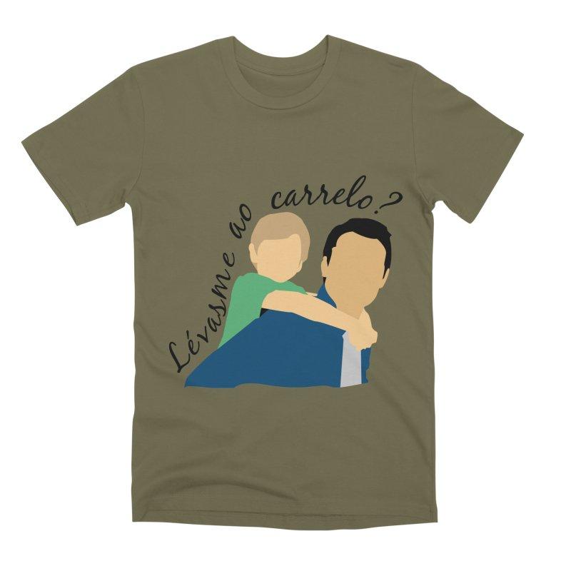 Lévasme ao carrelo? Men's T-Shirt by peregraphs's Artist Shop
