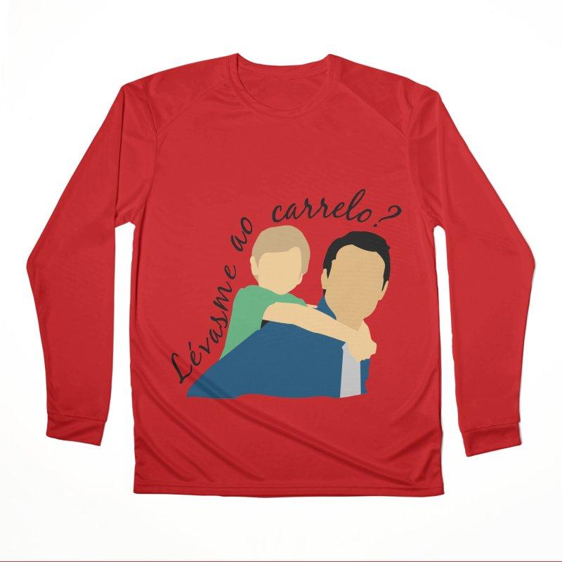 Lévasme ao carrelo? Women's Performance Unisex Longsleeve T-Shirt by peregraphs's Artist Shop