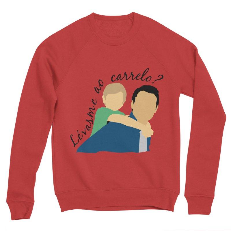 Lévasme ao carrelo? Men's Sponge Fleece Sweatshirt by peregraphs's Artist Shop
