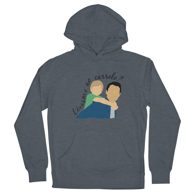 Lévasme ao carrelo? Women's French Terry Pullover Hoody by peregraphs's Artist Shop