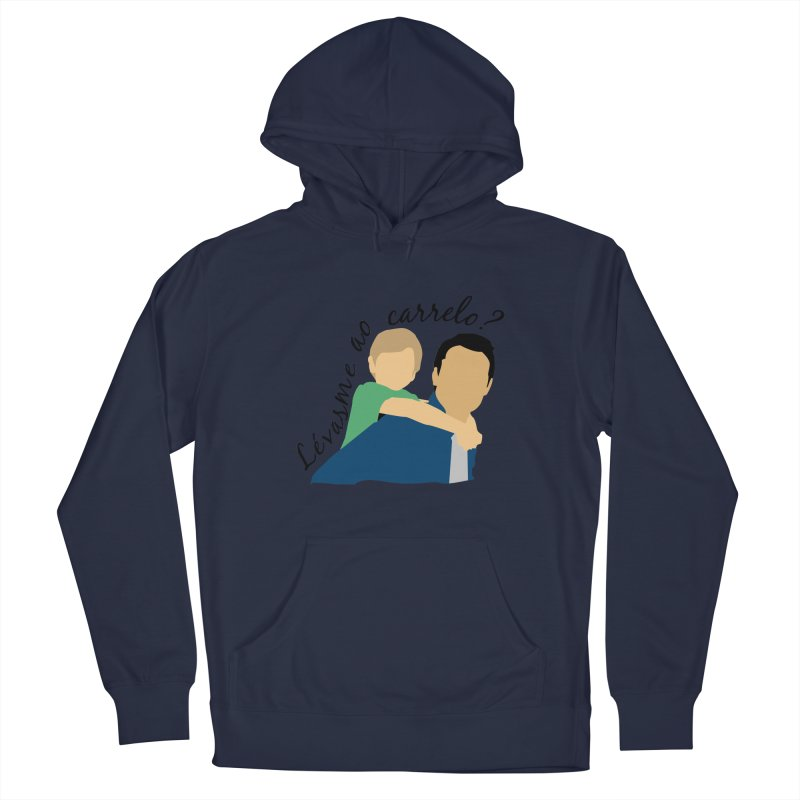 Lévasme ao carrelo? Men's Pullover Hoody by peregraphs's Artist Shop