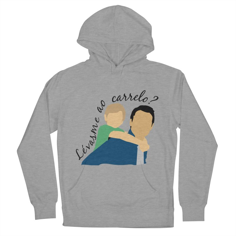 Lévasme ao carrelo? Men's French Terry Pullover Hoody by peregraphs's Artist Shop