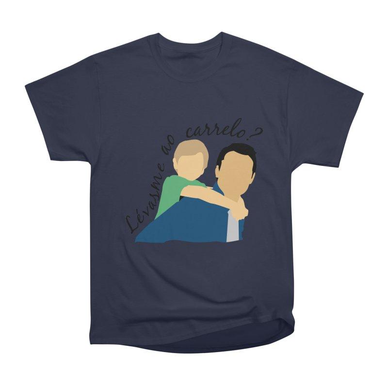 Lévasme ao carrelo? Men's Heavyweight T-Shirt by peregraphs's Artist Shop