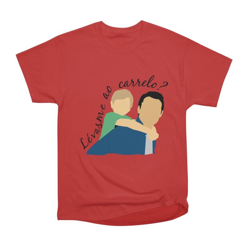 Lévasme ao carrelo? Women's Heavyweight Unisex T-Shirt by peregraphs's Artist Shop