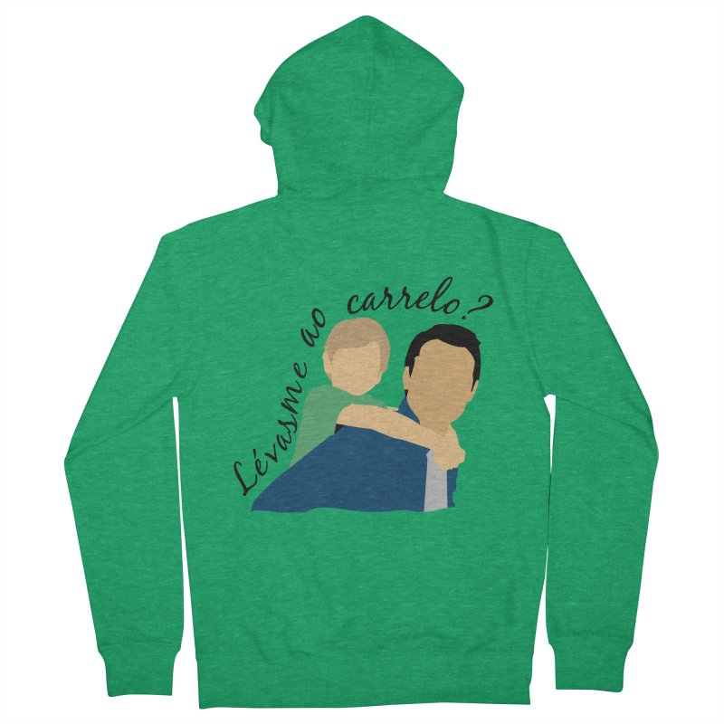 Lévasme ao carrelo? Men's Zip-Up Hoody by peregraphs's Artist Shop