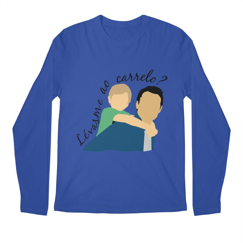 Lévasme ao carrelo? Men's Regular Longsleeve T-Shirt by peregraphs's Artist Shop