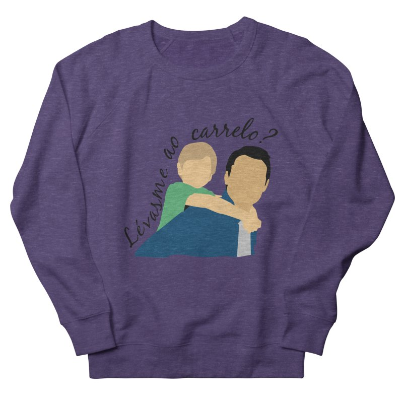 Lévasme ao carrelo? Women's French Terry Sweatshirt by peregraphs's Artist Shop