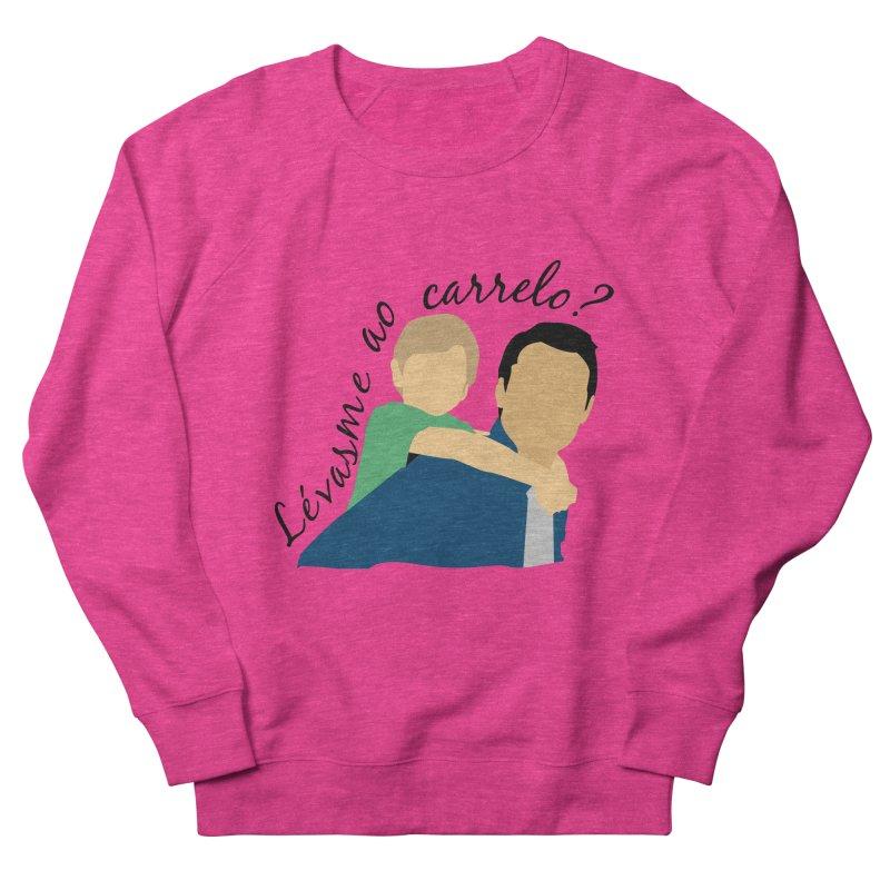 Lévasme ao carrelo? Women's Sweatshirt by peregraphs's Artist Shop