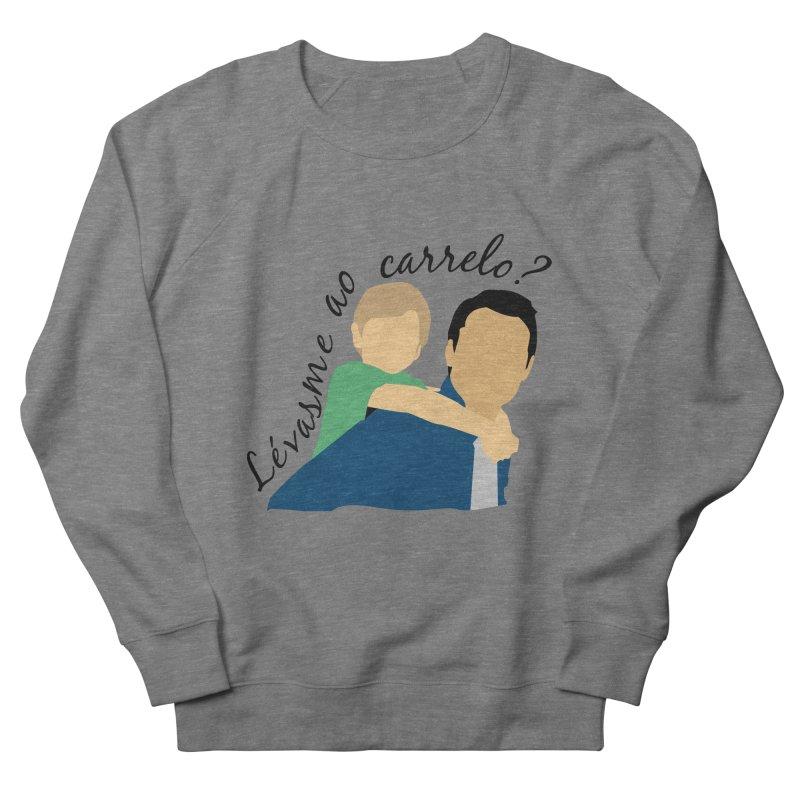 Lévasme ao carrelo? Men's French Terry Sweatshirt by peregraphs's Artist Shop