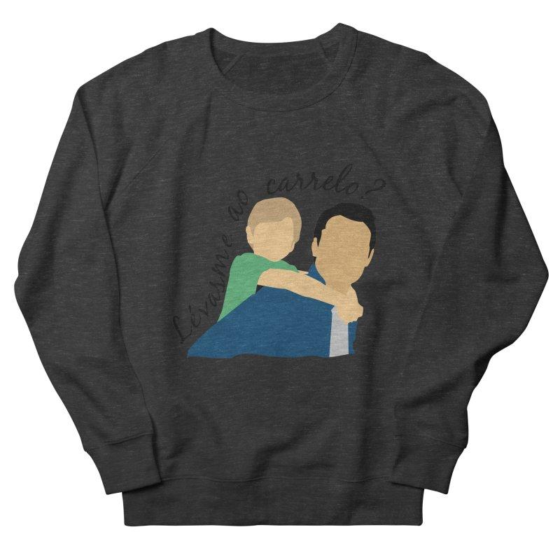 Lévasme ao carrelo? Men's Sweatshirt by peregraphs's Artist Shop