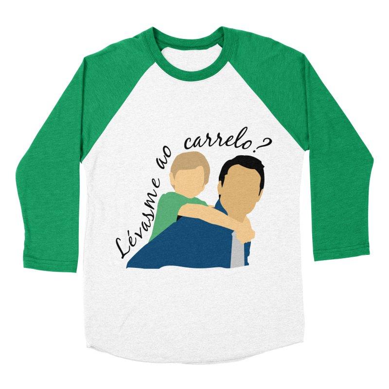 Lévasme ao carrelo? Women's Baseball Triblend Longsleeve T-Shirt by peregraphs's Artist Shop