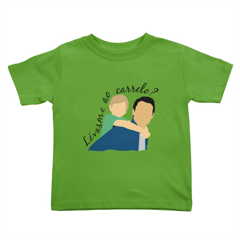 Lévasme ao carrelo? Kids Toddler T-Shirt by peregraphs's Artist Shop