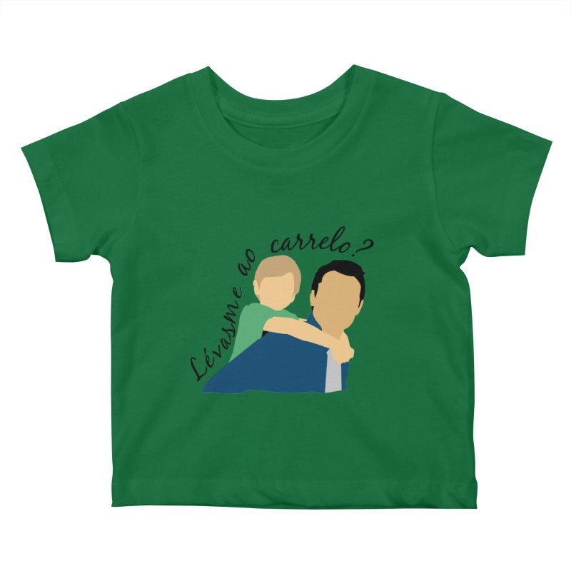 Lévasme ao carrelo? Kids Baby T-Shirt by peregraphs's Artist Shop