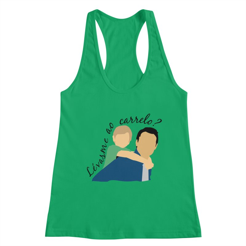 Lévasme ao carrelo? Women's Tank by peregraphs's Artist Shop