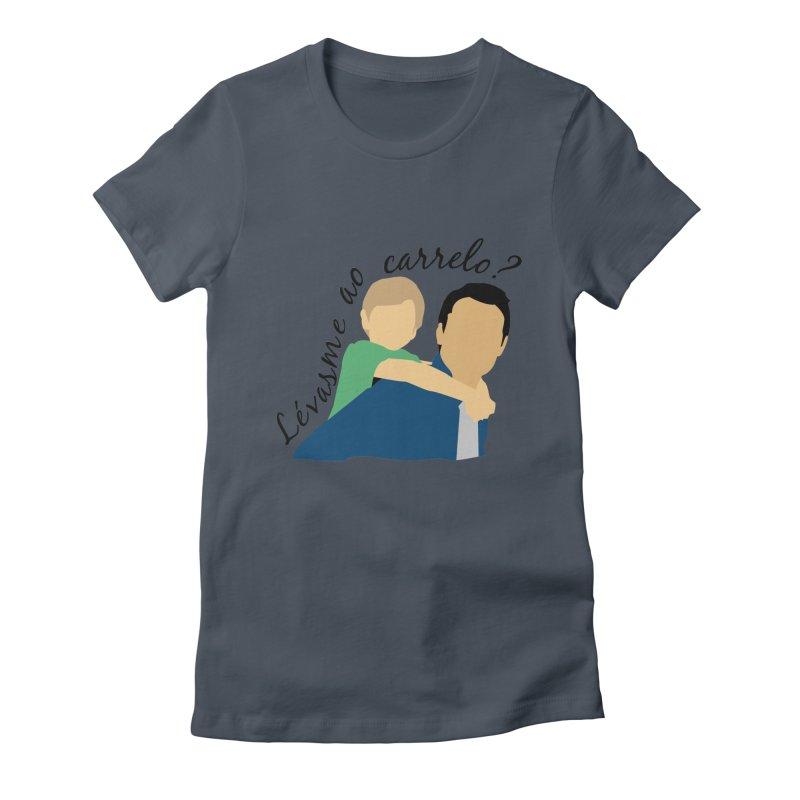 Lévasme ao carrelo? Women's T-Shirt by peregraphs's Artist Shop
