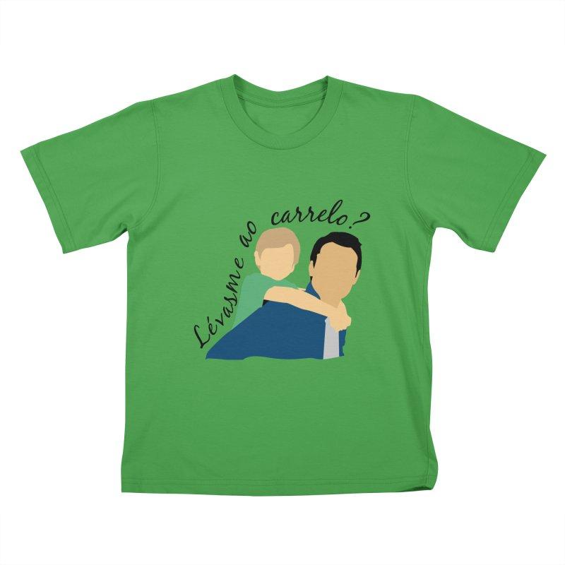 Lévasme ao carrelo? Kids T-Shirt by peregraphs's Artist Shop
