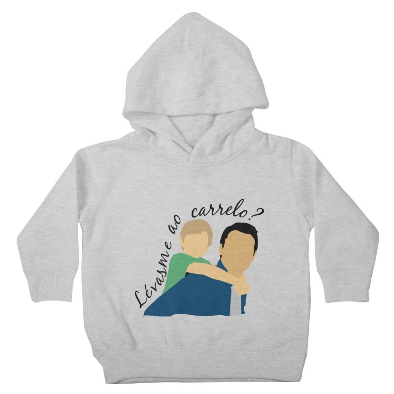 Lévasme ao carrelo? Kids Toddler Pullover Hoody by peregraphs's Artist Shop