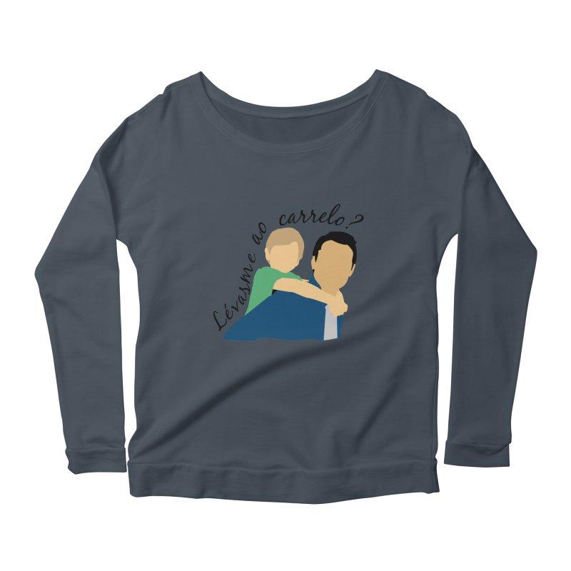Lévasme ao carrelo? Women's Longsleeve T-Shirt by peregraphs's Artist Shop